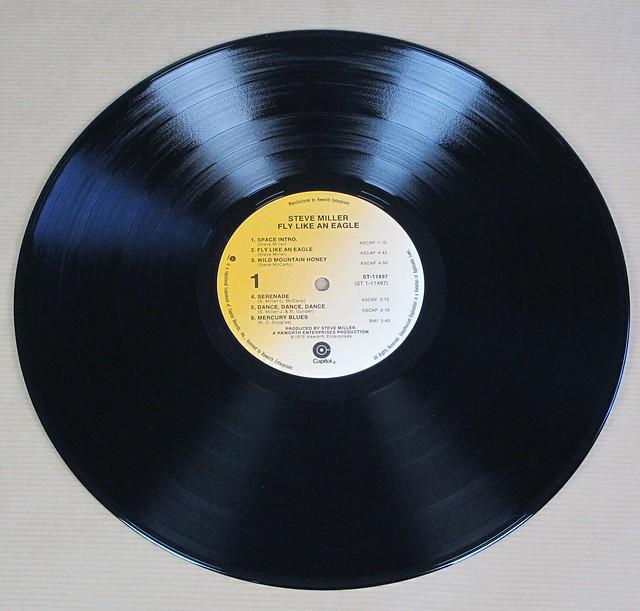 """STEVE MILLER FLY LIKE AN EAGLe 12"""" LP VINYL"""