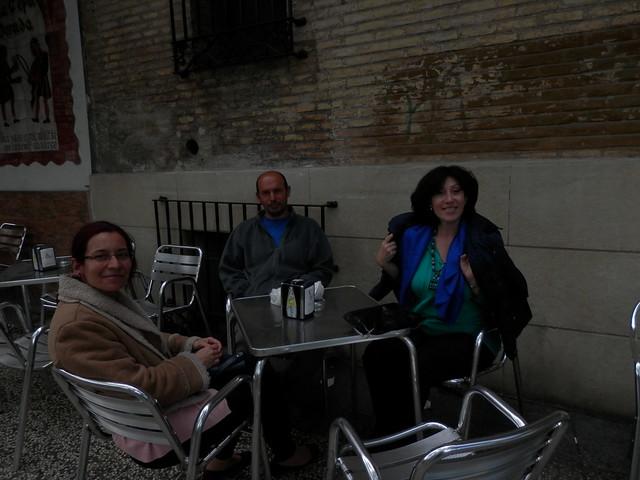 Con Montse y Eduardo