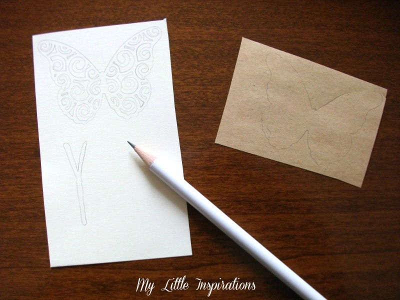 DIY Farfalla in carta traforata 5 - MLI
