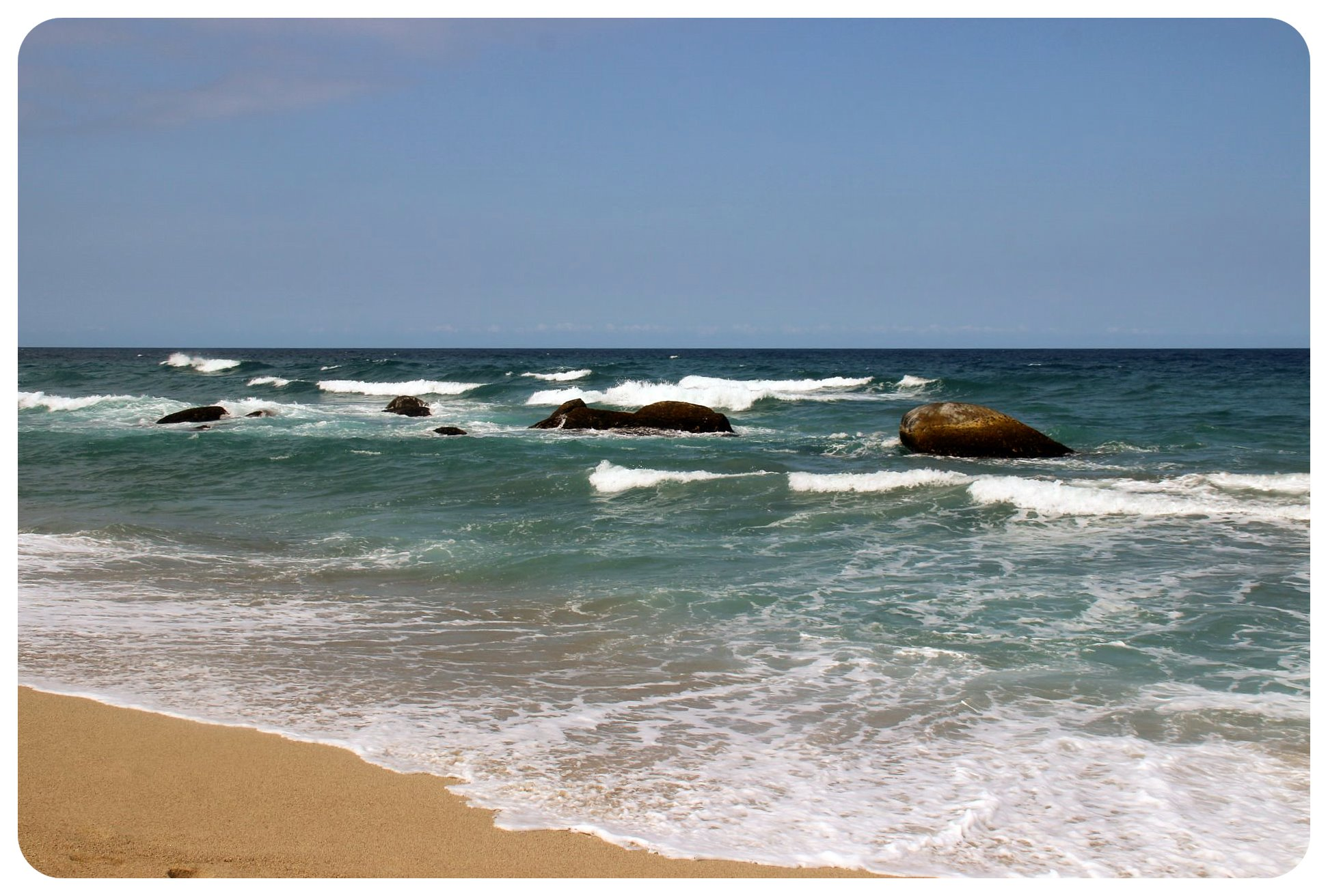 tayrona national park ocean