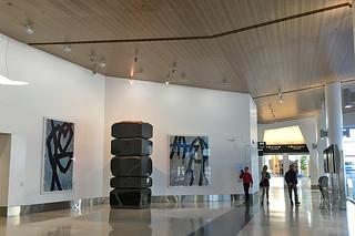 SFO Terminal 2 - Seiji Kunishima stacking stones