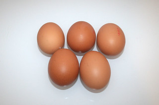 08 - Zutat Eier / Ingredient eggs
