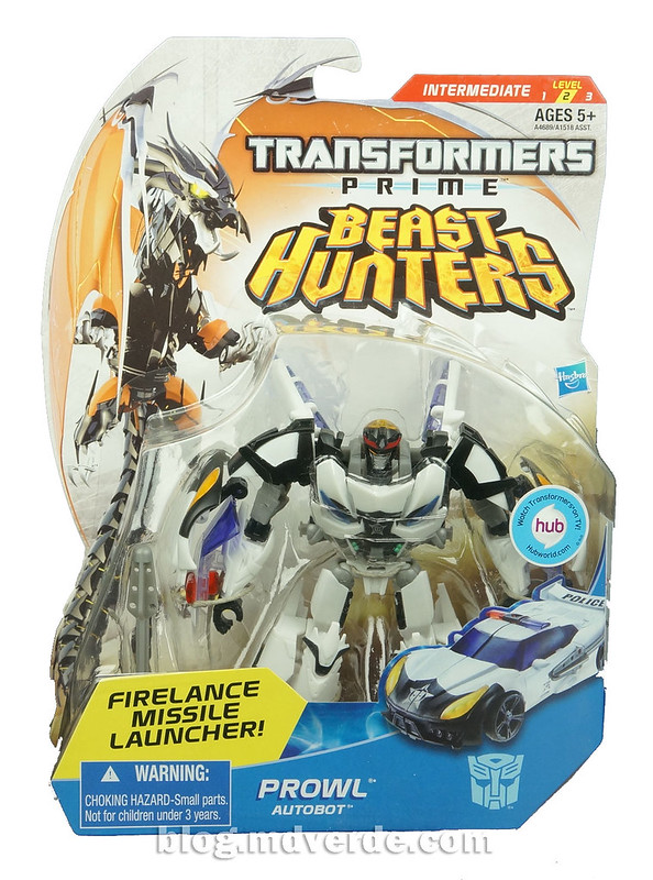 Transformers Prowl Deluxe - Transformers Prime Beast Hunters - caja