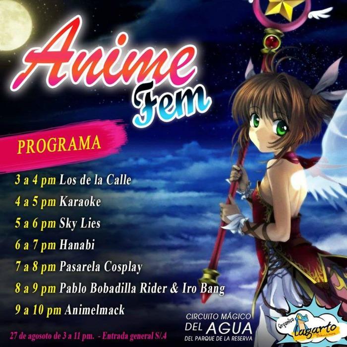 Anime Fem - Evento Oficial