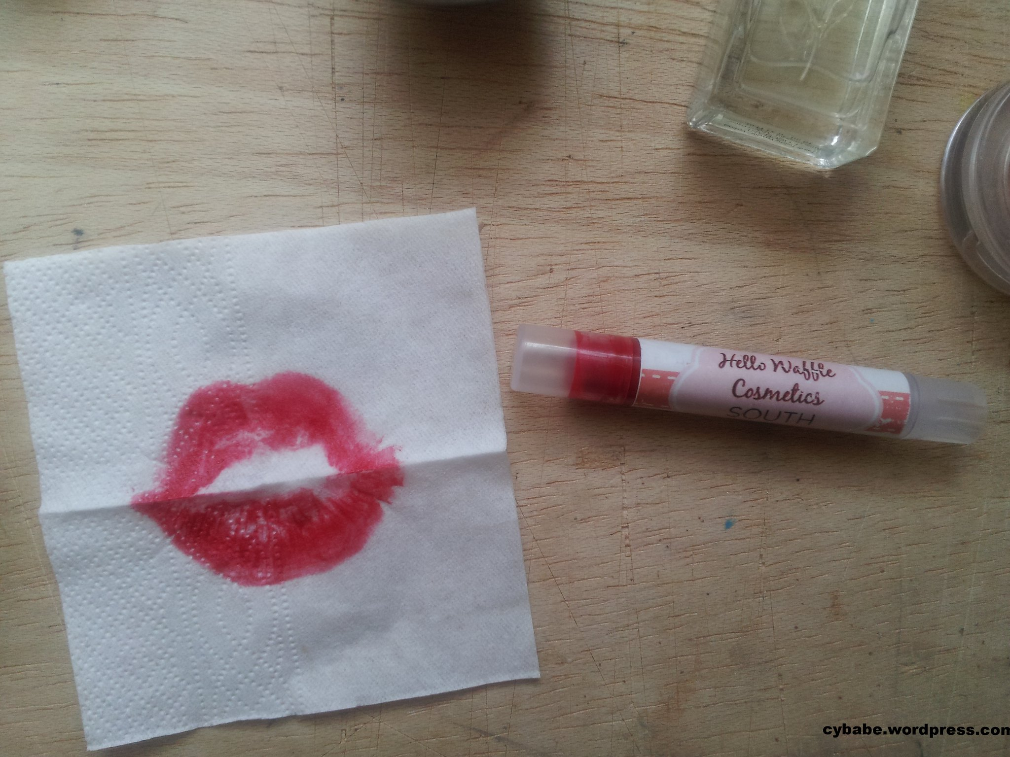 Hello Waffle SOUTH lipstick