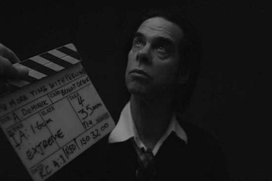 Nick Cave documentary shot