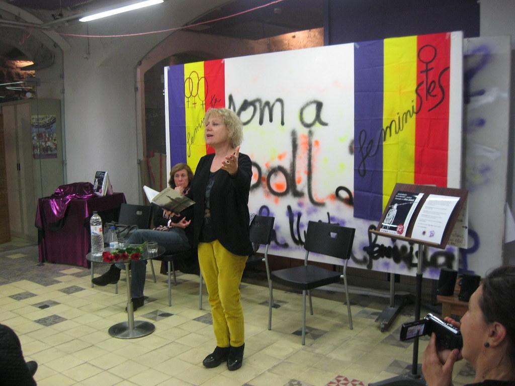 Marina Rossell a Ca La Dona. Acte IV República Feminista