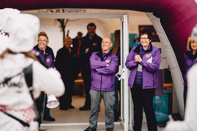Volunteering with Hull 2017