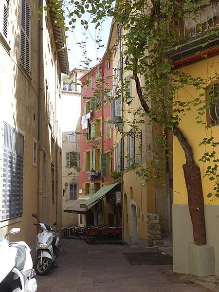 rue François zanin Nice