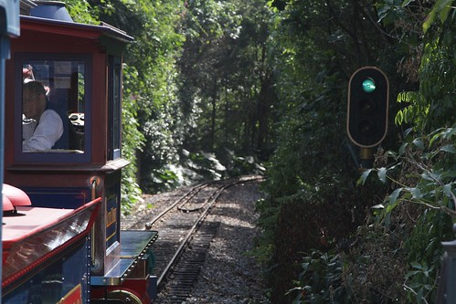 Colour light signals on the Hong Kong Disneyland Railroad