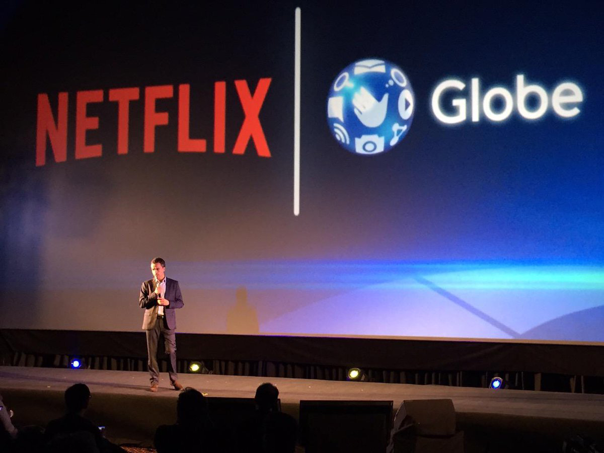 Globe Partners with Netflix in the Philippines