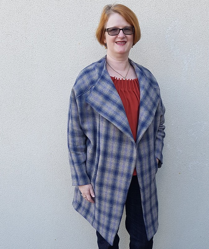 Style Arc Riley coat in wool from Clear It