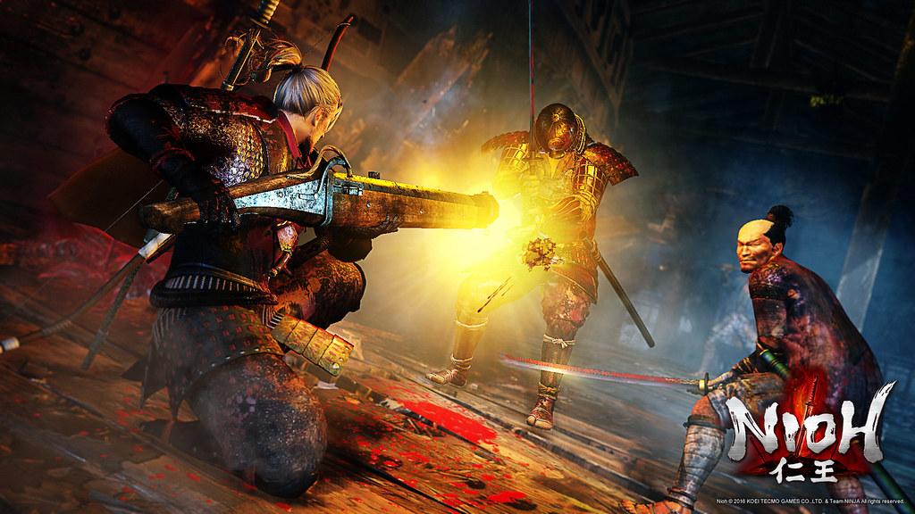 Nioh demo para PS4