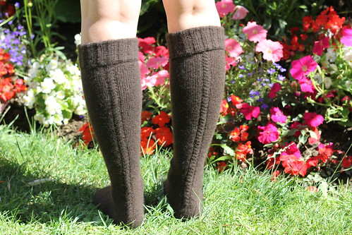 Little cable knee highs