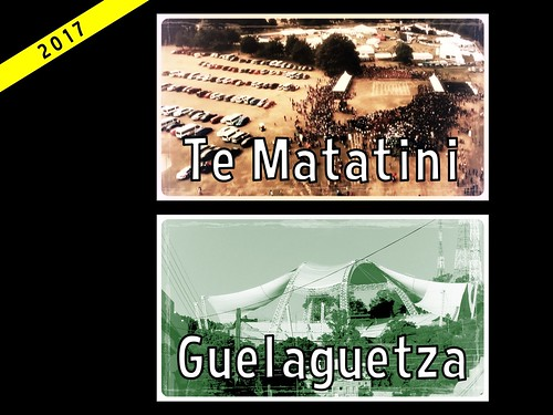 Compare and Contast: Guelaguetza and Te Matatini #ipw6 #rtweek17