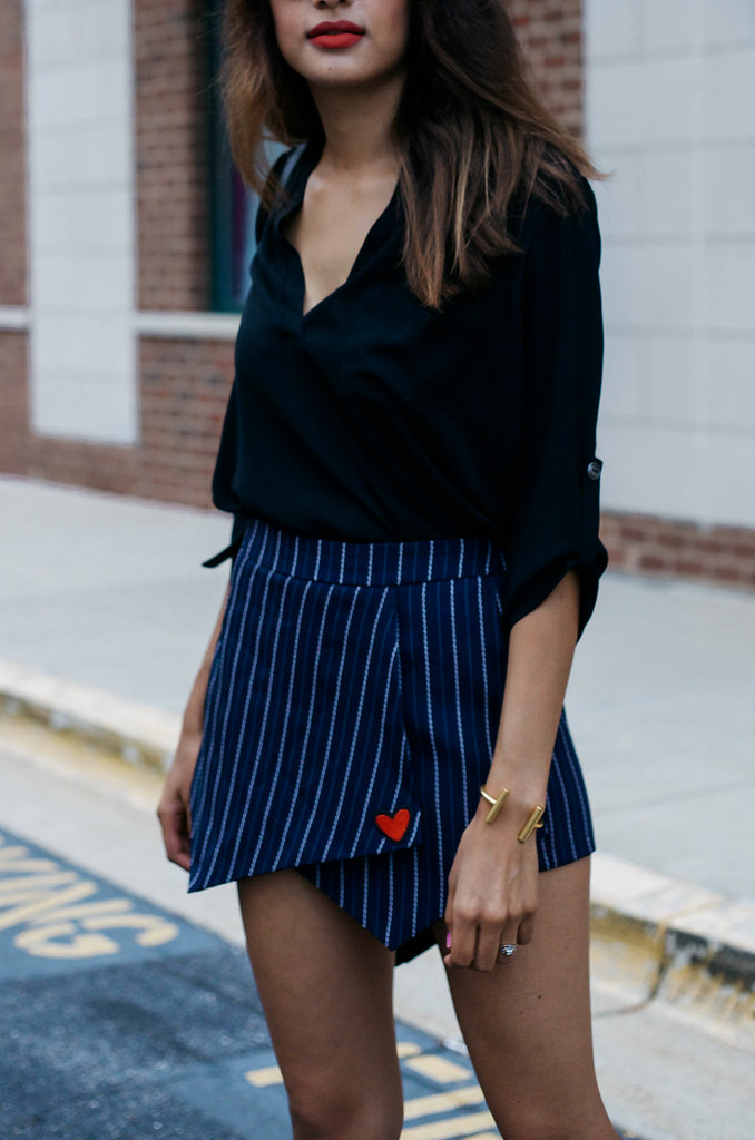 skirt with patch