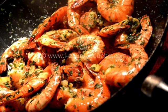 Crevettes à l'Ail © Ana Luthi Tous droits réservés 009