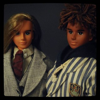 Two variations of Tom, boy character in #Takara #JennyFriends lineup, #bishonen for #365days project, 219/365