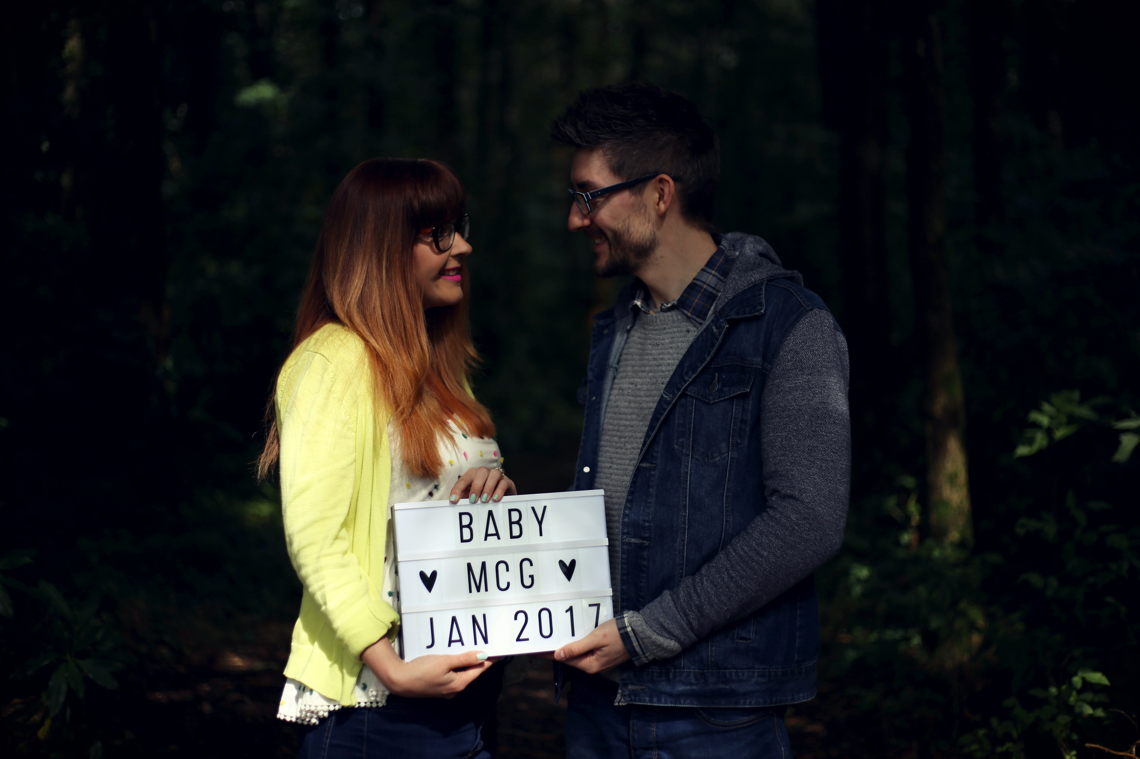 blogger baby announcement