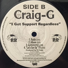 CRAIG G:LET'S GET UP(LABEL SIDE-B)
