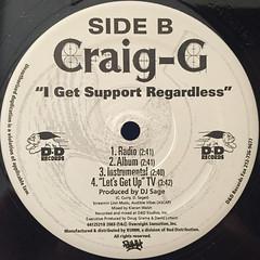 CRAIG G:LET'S GET UP(LABEL SIDE-B)
