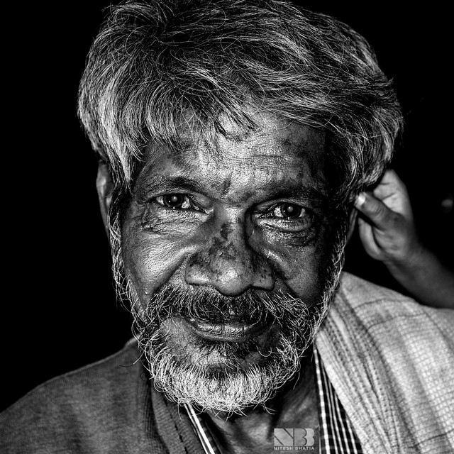 Old Man - (close-up)