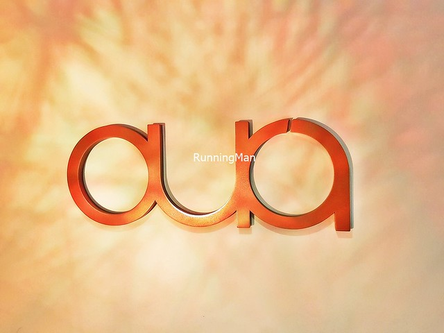 Aura Restaurant Signage