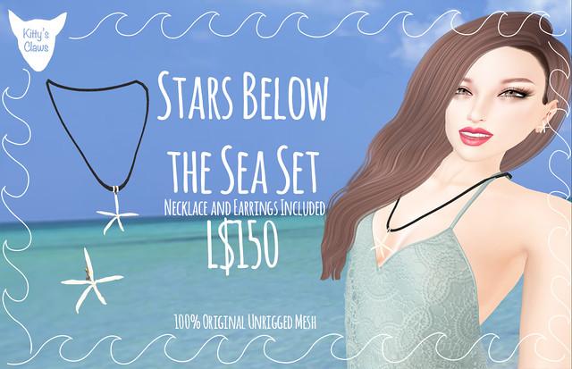Kitty's Claws: Stars Below the Sea Set