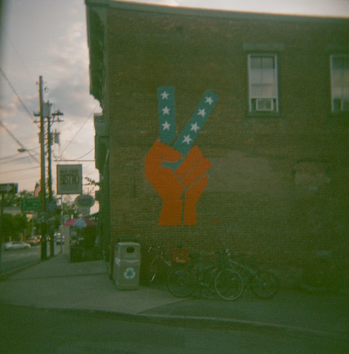 New Paltz Peace Mural