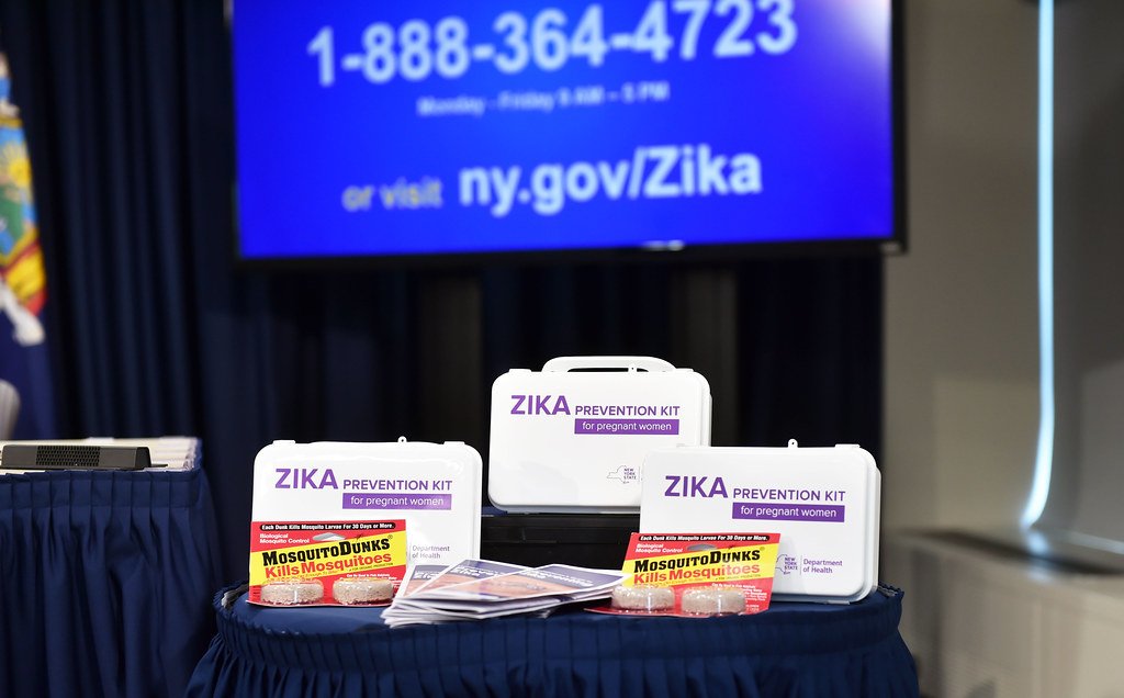 Governor Cuomo Makes an Announcement on Zika Prevention