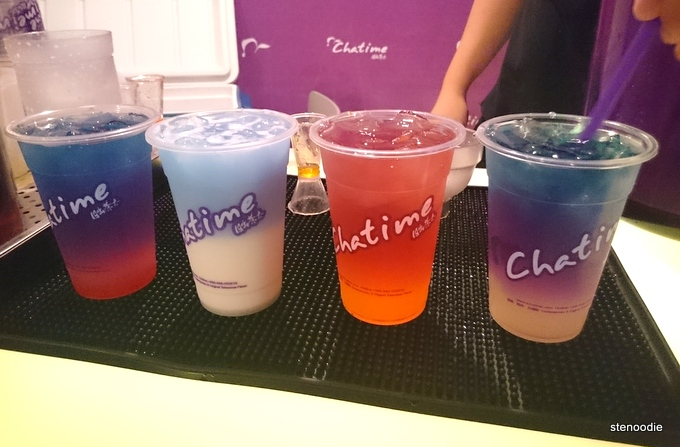 Chatime new teas