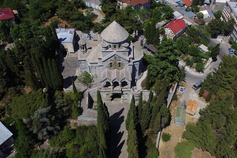 Yalta, S. Hripsime, aerial view, 2016.06.22 (01)