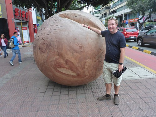 Giant wood ball