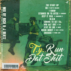 T.Y. - Run Dat Shit (Back)