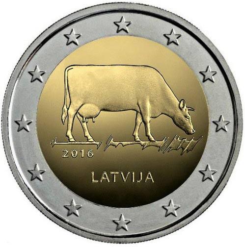 2 Euro Lotyšsko 2016, Poľnohospodársky priemysel