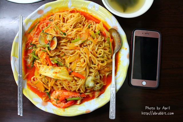 [台中]韓香屋–亞洲大學附近平價、C/P值高的韓式料理,炒馬麵也太大盤了吧!@霧峰 柳豐六街