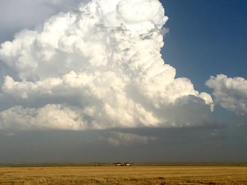 Fierce clouds.