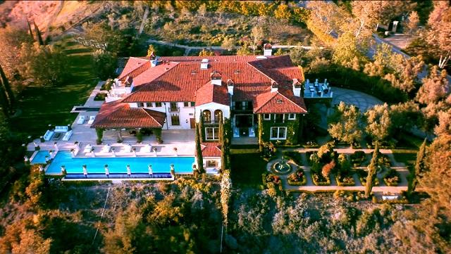Сказочная недвижимость Хайди Клум в Калифорнии