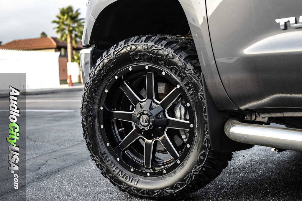 Fuel Wheels 20x9 >> 2016 Toyota Tundra 20x9 Fuel Offroad Wheels Maverick D538 Satin