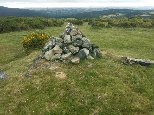 Small cairn at Aish Tor.