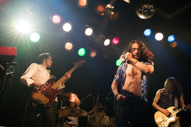 Tangerine at Club Mission's, Tokyo, 13 Jul 2016 -00553